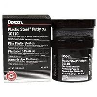 Devcon Plastic, Steel Epoxy Putty 1 Lb 10110
