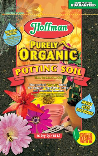 Hoffman 12520 Organic Potting Soil, 16 Quarts