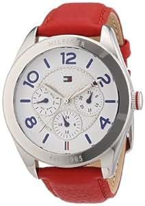 Tommy Hilfiger Damen-Armbanduhr Sport Luxury Analog Leder 1781203