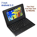 51CYYYU309L. SL160  7 EPC Netbook wifi Black