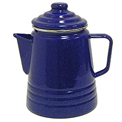 Coleman 9-Cup Coffee Enamelware Percolator (Blue) from Coleman