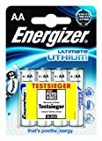 Energizer Lithium Batteries AA 3 + 1 FOC ENGLBS5715