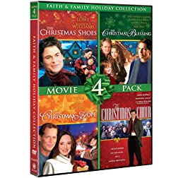 Faith & Family Holiday Collection Movie 4 Pack (The Christmas Shoes, The Christmas Blessing, The Christmas Hope, The Christmas Choir)