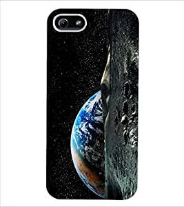 ColourCraft The Galaxy Design Back Case Cover for APPLE IPHONE 5S