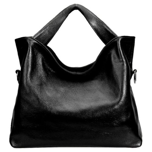 06. JiYe Womens 2P1006 1st Genuine Leather Leisure Shoulder Bag