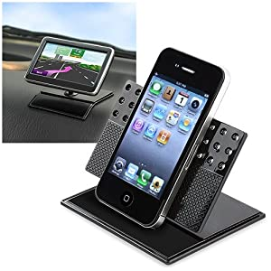eForCity Car Dashboard Stand Mount Holder Compatible with iPhone® 4 4G 3G 3GS
