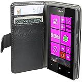 mumbi Ledertasche im Bookstyle für Nokia Lumia 520 Tasche