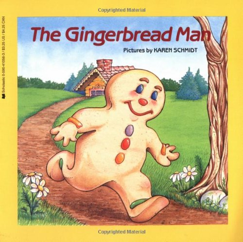 The Gingerbread Man (Easy-to-Read Folktales) by Karen Schmidt cover