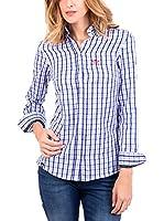 POLO CLUB Camisa Mujer Margot Academy (Azul)