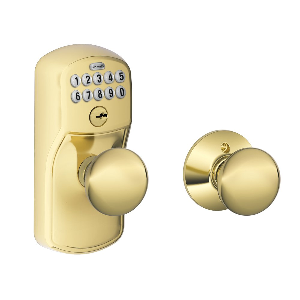Amazon Com Schlage Fe575 Ply 505 Ply Plymouth Keypad