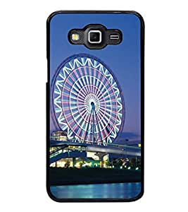 London Eye 2D Hard Polycarbonate Designer Back Case Cover for Samsung Galaxy Grand 3 :: Samsung Galaxy Grand Max