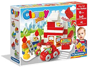 Clemmy Plus Clemmy Play Set Fire Station, Multi Color