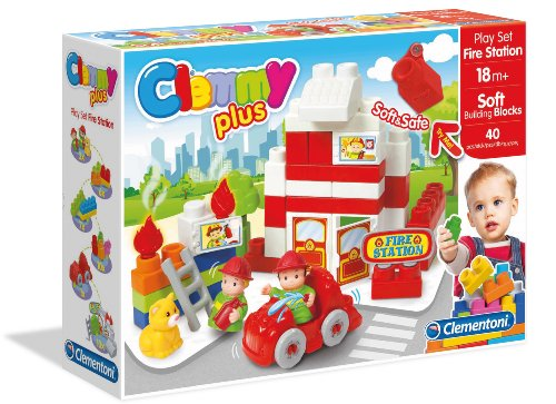Clemmy Plus Fire Station 40 Pc