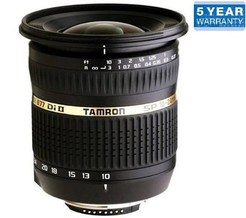 TAMRON SP AF 10-24 mm f / 3.5-4.5 Di II LD Aspherical (IF) Lens + 77 mm UV filter - clear (307702)