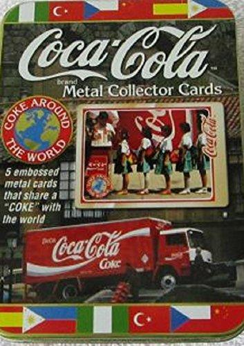 Coca-Cola Brand Metal Collector Cards
