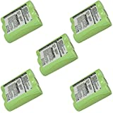 Exell Battery 5pcs Exell FRS Two-Way Radio Battery Fits Motorola AP10, Motorola AP50, Motorola CP10, Motorola CP50, Motorola HT10, Motorola P10, Motorola P50, Motorola P60, Motorola Radius CP10, Motorola Radius CP50, Motorola Radius HT10, Motorola Radius
