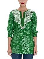 Almatrichi Blusa Mirta (Verde)