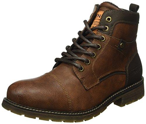 tom-tailor-1685901-bottes-classiques-hommes-marron-rust-44-eu