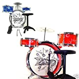 8pcs KIDS BOYS DRUM SET MUSICAL INSTRUMENT TOY PLAYSET
