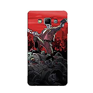 HEADPHONES BACK COVER FOR SAMSUNG GALAXY A8