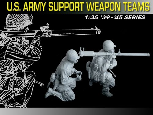 Buy Low Price Dragon Models 1/35 U.S. Army Support Weapon Teams Figure (B000BQ4WJI)