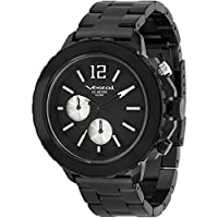 Vestal Men's YATCM01 Yacht Metal Analog Display Japanese Quartz Black Watch from Vestal