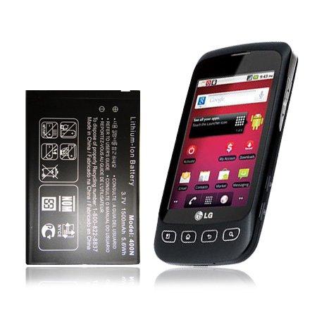Replacement Generic Battery for LG Optimus V VM670 (LGIP-400N) (Virgin Mobile) (Battery Lg Optimus V compare prices)