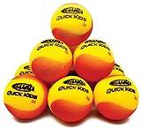 Gamma Quick Kids 36 Foam Ball (12 Pack, Yellow/Red)