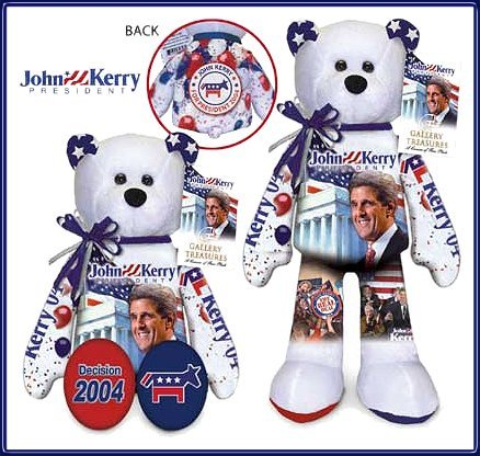 51CYvR8tL8L Buy  Decision 2004 John F. Kerry Bear