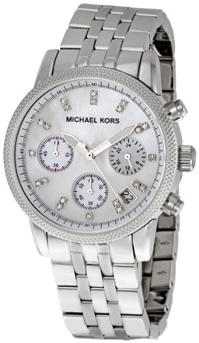 Michael Kors Women's Ritz Silver-Tone Watch MK5020