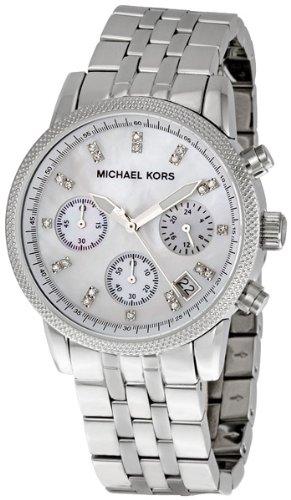 Michael Kors Women's Ritz Silver-Tone Watch MK5020