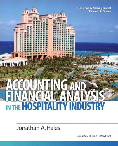 Accounting and Financial Analysis in the Hospitality...