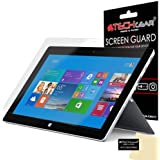 TECHGEAR® Microsoft Surface 2 / Surface Pro 2 Windows 8.1 Tablette Film de Protection Ultra Clair pour Écran LCD avec Chiffon de Nettoyage