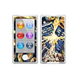 Diabloskinz Vinyl Adhesive Skin, Decal, Sticker for the iPod Nano 7th Gen Skin - Exploding Tardis