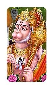 KnapCase Shree Hanuman Designer 3D Printed Case Cover For OnePlus X