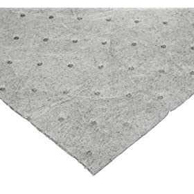 TaskBrand AS-INB-R1 30-Inch by 150-Feet Universal Grey AllSorb Melt Blown Industrial Sorbent Roll (1 Roll per Case)