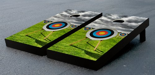 ARCHERY TARGETS THEMED CORNHOLE GAME SET