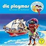 """Die Playmos - Folge 1: Der Schatz der Teufelsinsel. H�rspiel.  H�rspielvon """"Simon X. Rost"""""""