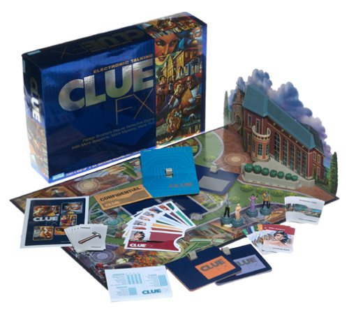 Clue Game Electronics