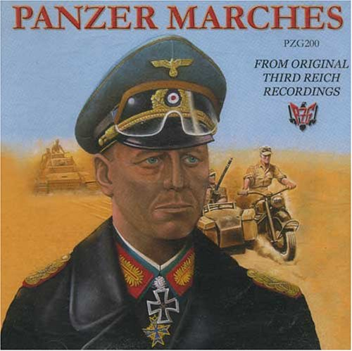 Original album cover of Panzer Marches by Original Third Reich Nazi Recordings