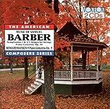 BARBER/HANSON:Barber: Symphonies Nos. 1 & 2, adagio for Strings, Piano Concerto Op. 28, Hanson: Piano Concerto Op.9