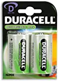 Duracell Battery Rechargeable Accu NiMH 2200mAh D [Pack 2] - 81364737