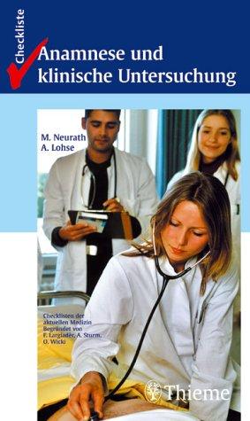 Checkliste Anamnese und Klinische Untersuchungen
