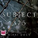 Subject 375 | Nikki Owen