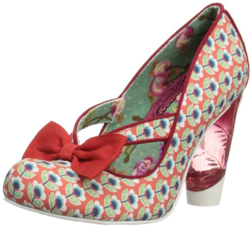 Irregular Choice Womens Hello Ha Court Shoes 3801-40 Red 5 UK, 38 EU