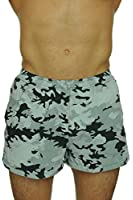 Uzzi Men's Basic Swim Shorts Swimwear Trunks Waterproof Technology Dry Fast