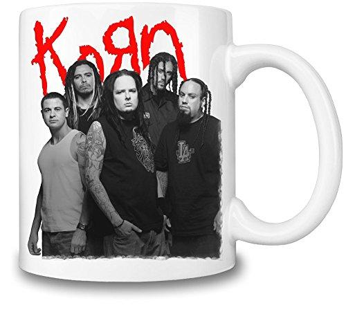 Korn Band Tazza Coffee Mug Ceramic Coffee Tea Beverage Kitchen Mugs By Genuine Fan Merchandise