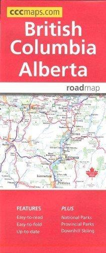 British Columbia & Alberta, Road Map (Road Map Canada compare prices)