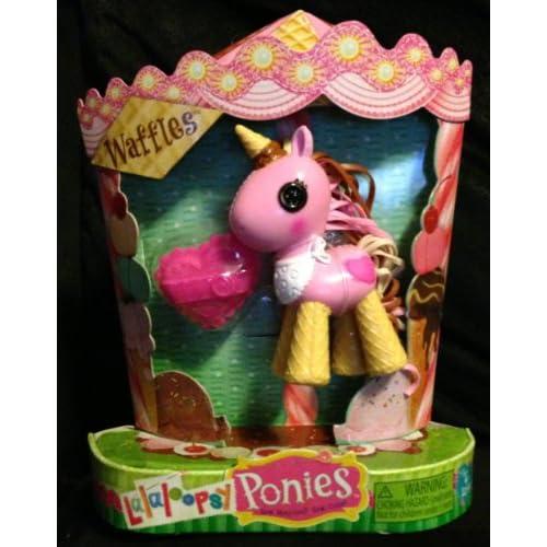 Amazon.com: Lalaloopsy Mini Ponies Waffles Baby Pony Figure