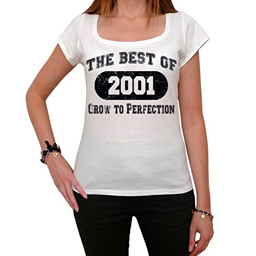 Regalo di compleanno The Best of 2001 T-shirt, maglietta donna, maglietta donna regalo